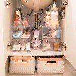 Organização do banheiro